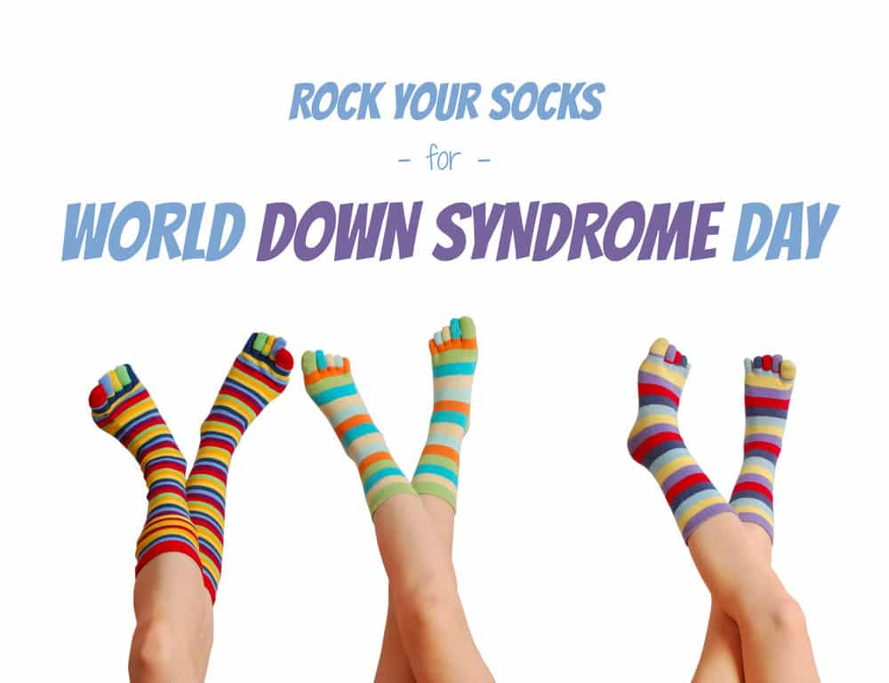 Special Needs, Down Syndrome, Rock Your Socks